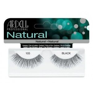 Buy Ardell Natural Strip Lashes - 105 Black - Nykaa