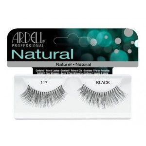 Buy Ardell Natural Strip Lashes - 117 Black - Nykaa