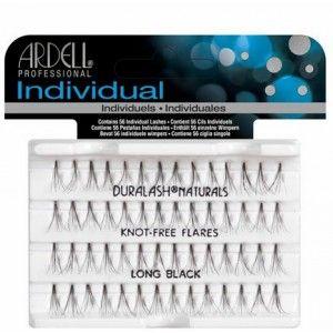 Buy Ardell Individual Knot Free Natural Long Black Eye Lashes - Nykaa