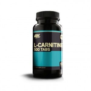 Buy Optimum Nutrition (ON) L-Carnitine Dietary Supplement 500 Mg - 60 Tablets - Nykaa