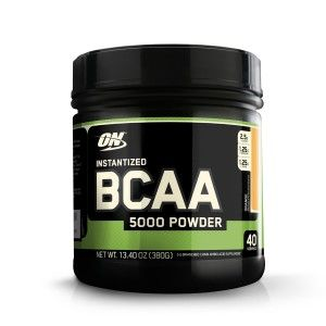 Buy Optimum Nutrition (ON) Instantized BCAA 5000 mg Powder - 380g (Orange) - Nykaa