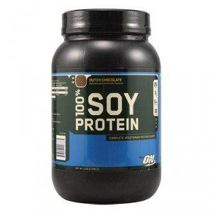 Buy Optimum Nutrition 100% Soy Protein Dutch Chocolate - 2.08 lbs - Nykaa