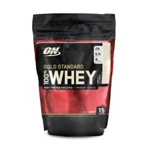 Buy Optimum Nutrition (ON) 100% Whey Gold Standard - 1 lb (Vanilla Ice Cream) - Nykaa
