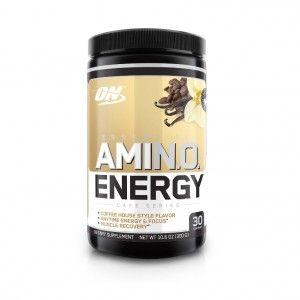 Buy Optimum Nutrition (ON) Amino Energy Powder - 30 Servings (Iced Cafe Vanilla) - Nykaa