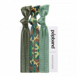 Buy Popband London Essentials G.I. Jane Hair Ties - Nykaa