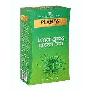 Buy Planta Lemongrass Green Tea Long Leaf - Nykaa