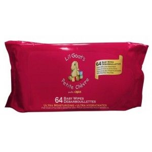 Buy Caprina Petite Chevre Fresh Goat's Milk Lil Goat's Wipes  - Nykaa