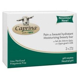 Buy Caprina Fresh Goat's Milk Moisturizing Facial Beauty Bar- Unscented Formula (Pack of 2) - Nykaa