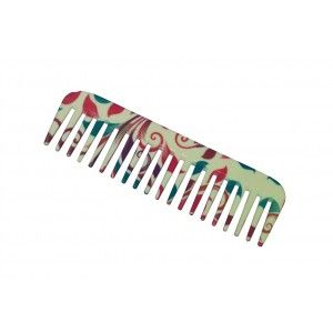Buy FeatherFeel Printed English Spring Shampoo Comb - Nykaa