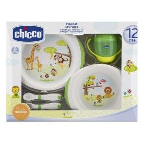 Buy Chicco Meal Set (12M+) - Green - Nykaa