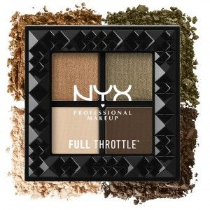 Buy NYX Professional Makeup Full Throttle Shadow Palette - Nykaa
