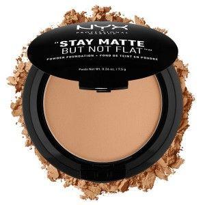 Buy NYX Professional Makeup Stay Matte But Not Flat Powder Foundation - Nykaa