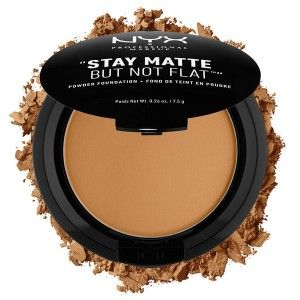 Buy NYX Professional Makeup Stay Matte But Not Flat Powder Foundation - Nykaa