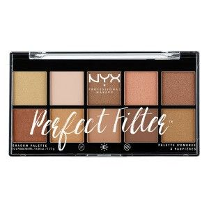 Buy NYX Professional Makeup Perfect Filter Eyeshadow Palette - Nykaa