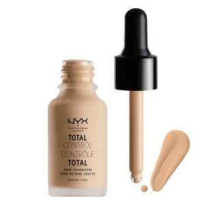 Buy NYX Professional Makeup Total Control Drop Foundation - Nykaa