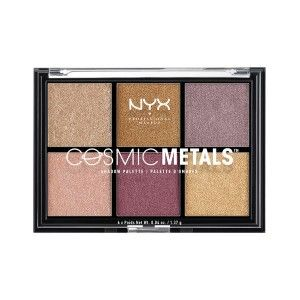 Buy NYX Professional Makeup Cosmic Metals Eyeshadow Palette - Nykaa