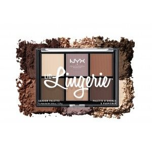 Buy NYX Professional Makeup Lid Lingerie Shadow Palette - Nykaa