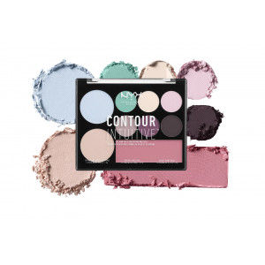 Buy NYX Professional Makeup Contour Intuitive Palette - Nykaa