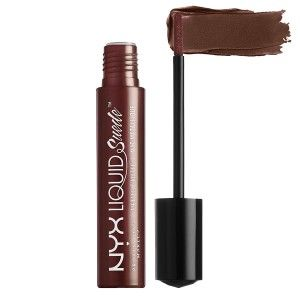 Buy NYX Professional Makeup Liquid Suede Metallic Matte Cream Lipstick - Nykaa