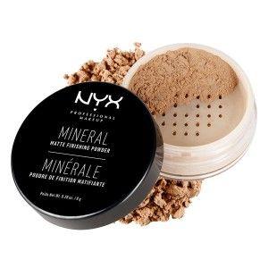 Buy NYX Professional Makeup Mineral Matte Finishing Powder - Nykaa