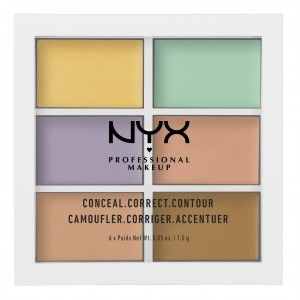 Buy NYX Professional Makeup Conceal, Correct, Contour Palette - Nykaa