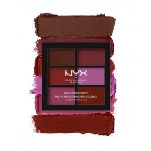 Buy NYX Professional Makeup Pro Lip Cream Palette - Nykaa