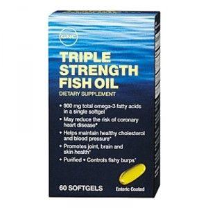 Buy GNC Triple Strength Fish Oil (120 Softgels) - Nykaa