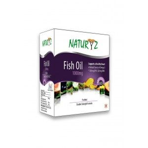 Buy Naturyz Double Strength Fish Oil (EPA 330/DHA 220) - 60 Capsules - Nykaa