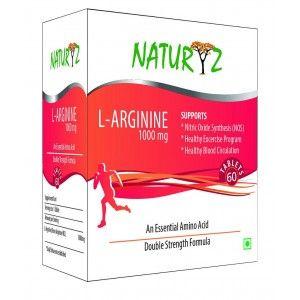 Buy Naturyz L-Arginine Max 1000mg - 60 Capsules - Nykaa