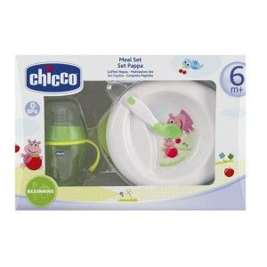 Buy Chicco Multicolor Meal Set (6M+) - Green - Nykaa