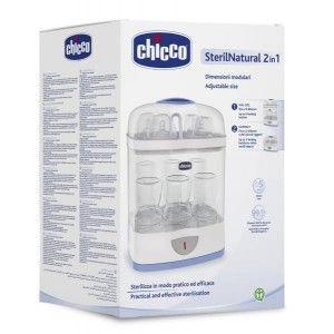 Buy Chicco SterilNatural 2 In1 Sterilizer - Nykaa