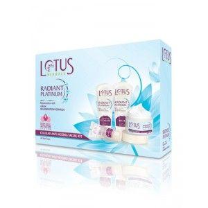 Buy Lotus Herbals Radiant Platinum Cellular Anti-Ageing Facial Kit - Nykaa