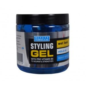 Buy Beauty Formulas Styling Gel Wet Look With Blue Pro Vitamin B5 - Nykaa