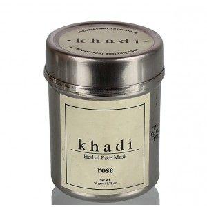 Buy Khadi Natural Herbal Face Mask - Rose - Nykaa