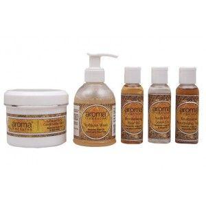 Buy Aroma Treasures Moroccan Argan Hair Spa Kit - Nykaa