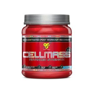Buy BSN Cellmass Advanced Strength Supplement 2.0 (Blue Raspberry) - 50 Servings - Nykaa
