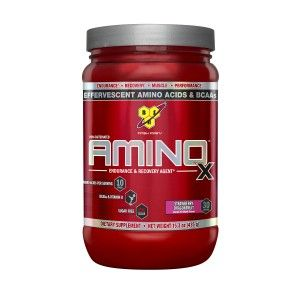 Buy BSN Amino X Muscle Recovery Supplement (Strawberry Dragon Fruit) - 30 Servings - Nykaa