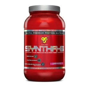 Buy BSN Syntha-6 Protein Powder (Strawberry Milkshake) - Nykaa