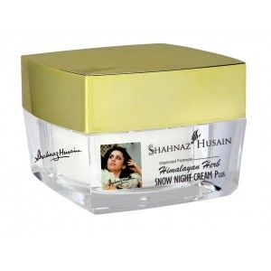 Buy Shahnaz Husain Himalayan Herb Snow Night Cream Plus - Nykaa