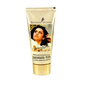 Buy Shahnaz Husain Improved Formula ShaSmooth Plus Almond Under-Eye Cream - Nykaa