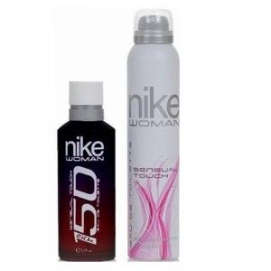 Buy Nike 150 Sensual Touch Gift Set (EDT 150 ml + Deo 200 ml) - Nykaa