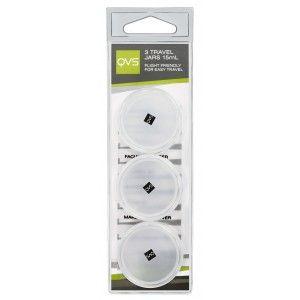 Buy QVS Travel Jars -Pack Of 3 - Nykaa