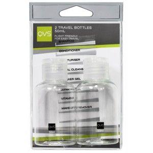 Buy QVS Travel Bottles - Pack Of 2 - Nykaa