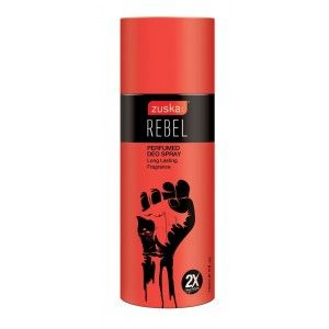 Buy Zuska Rebel Perfumed Deo Spray With 2X More Perfume - Nykaa