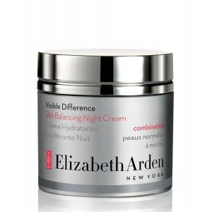 Buy Elizabeth Arden Visible Difference Skin Balancing Night Cream - For Combination Skin - Nykaa