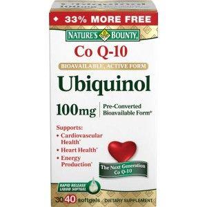 Buy Nature's Bounty Ubiquinol 100mg - Nykaa