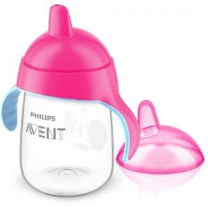 Buy Philips Avent Premium Spout Cup - Pink - Single Pack - Nykaa