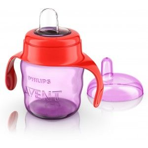 Buy Philips Avent Classic Soft Spout Cup - Pink / Purple - Nykaa