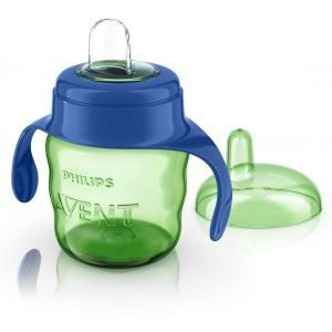 Buy Philips Avent Classic Soft Spout Cup - Green / Blue - Nykaa