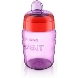 Buy Philips Avent Classic Spout Cup - Pink / Purple - Nykaa